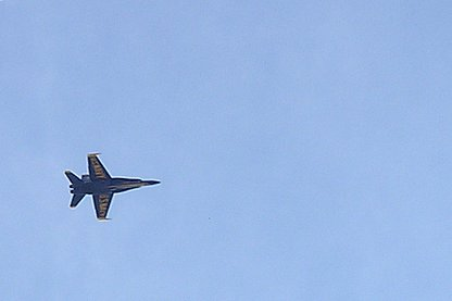 Blue Angel at the 2006 Fort Lauderdale Air and Sea Show