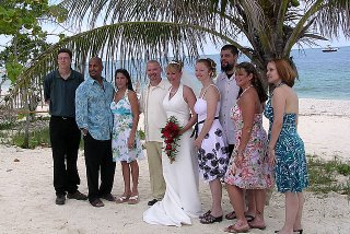Mr. and Mrs. Powell and their friends.